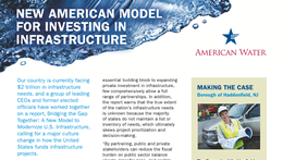 New American Model for Investing in Infrastructure